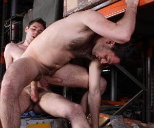Filthy Warehouse Fuckers  Riley Tess And Jonny Parker
