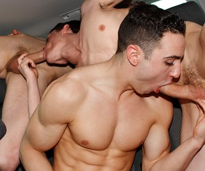 Muscle Boy Jake Gets Bought  Jake Kelvin Sean McKenzie And Reece Bentley