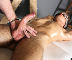 Sebastian Kane Strokes The Cum From Oli Jay  Oli Jay And Sebastian Kane