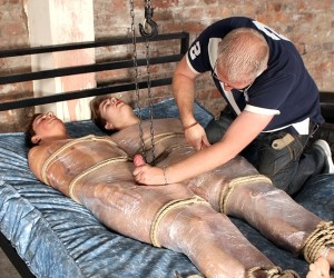 Captured And Wanked Off  Casper Ellis Zac Langton And Sebastian Kane
