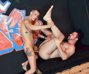 Fucking At The Sex Club  Dolan Wolf And Nathan Hope