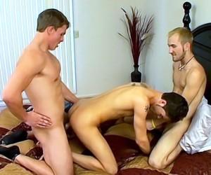The Boys Catch Jacob Jerking  Turkish Cum Bath