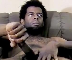 Hung Black Gay Guy Jay Strokes  Jay