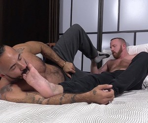Red and Alessio Romero Worship Each Others Feet  Red ampamp Alessio