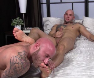Brothers Brayden and Drake Worship Each Othersamp039 Feet  Brayden