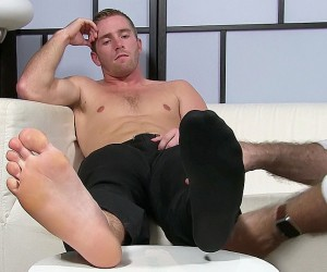 Scott Has A New Foot Slave  Scott