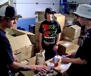 Skaters Pull Cum Soaked Nasty Prank  Ian Madrox Seth ampamp Dustin