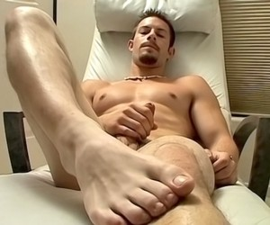 Hot Str8 Jock Foot Show  Mike Roberts